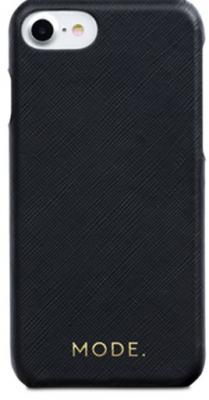 Чехол-накладка dbramante1928 London для iPhone 8/7/6s/6. Материал натуральная кожа/пластик. Цвет черный. браун роуз дизайн кожа pu откидная крышка бумажника карты держатель чехол для iphone 6s