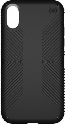Накладка Speck Presidio Grip для iPhone X чёрный 103131-1050 накладка speck seethru air 11 blue