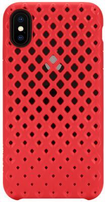 Накладка Incase Lite Case для iPhone X красный INPH190377-RED