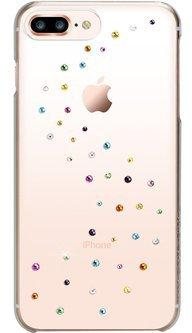 Чехол Bling My Thing для iPhone 8 Plus, с кристаллами Swarovski. Материал пластик. Коллекция Milky Way. Дизайн Cotton Candy. butterfly bling diamond case