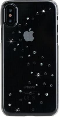Чехол Bling My Thing для iPhone X, с кристаллами Swarovski. Материал пластик. Коллекция Milky Way. Дизайн Starry Night. ey products e my creative wood table clock khaki 1 x aa