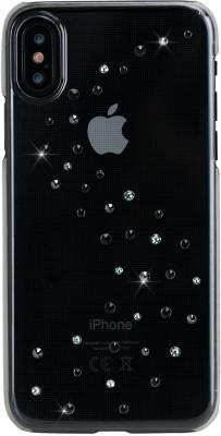 Чехол Bling My Thing для iPhone X, с кристаллами Swarovski. Материал пластик. Коллекция Milky Way. Дизайн Starry Night. стоимость
