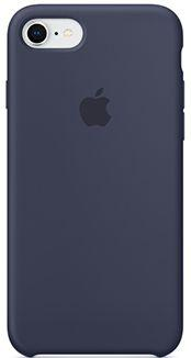 Накладка Apple MQGM2ZM/A для iPhone 7 iPhone 8 темно-синий чехол для iphone apple iphone 8 7 silicone midnight blue mqgm2zm a