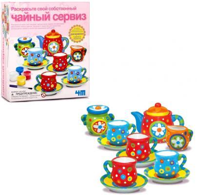 Набор для творчества 4m Чайный сервиз от 8 лет 00-04541 набор для творчества creative creative набор для творчества украшаем чайный сервиз