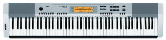Цифровое фортепиано CASIO CDP-230RSR 88 клавиш серебристый casio cdp 230r sr silver цифровое фортепиано