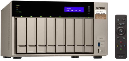 Сетевое хранилище QNAP TVS-873-16G 8x2,5 / 3,5