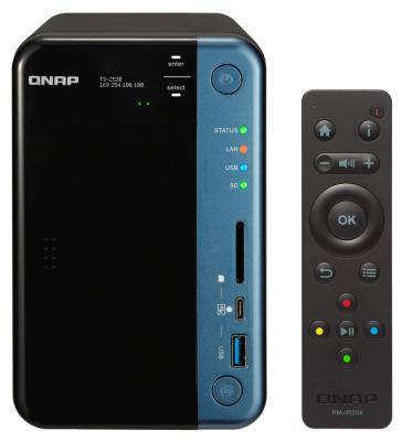 Сетевое хранилище QNAP TS-253B-4G 2x2,5 / 3,5 сетевое хранилище qnap ts 853a 4g без дисков
