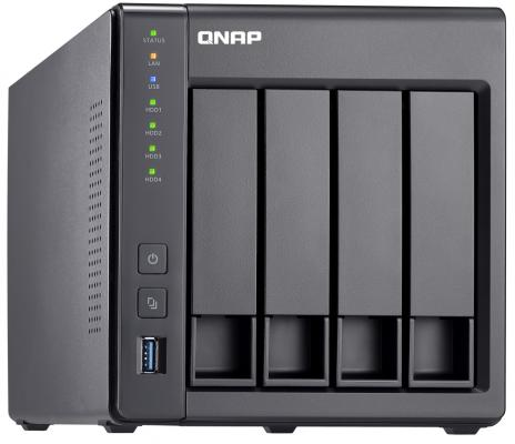 Сетевое хранилище QNAP TS-431X2-8G 4x2,5 / 3,5 рэковое сетевое хранилище rack nas qnap ts 531x 8g ts 531x 8g