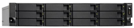 Сетевое хранилище QNAP TS-1253BU-RP-4G 12x2,5 / 3,5 цена