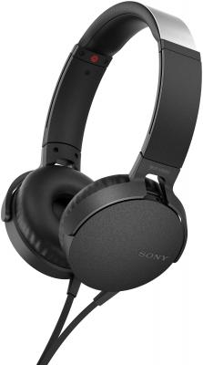 Наушники SONY MDR-XB550AP черный цена и фото