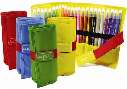 Набор фломастеров CARIOCA в пенале 2.6 мм 24 шт набор фломастеров universal carioca mini jumbo 6 шт разноцветный 40106 6