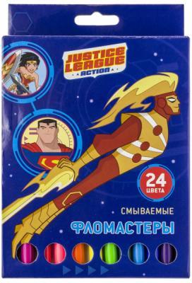 """Набор фломастеров Action! """"DC Comics"""" 24 шт в ассортименте"""