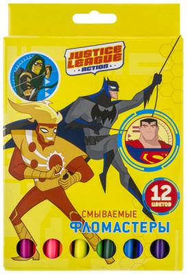 Набор фломастеров Action! DC Comics 12 шт DC-AWP105-12 в ассортименте альбом для рисования action dc comics a4 40 листов dc aa 40 1 в ассортименте
