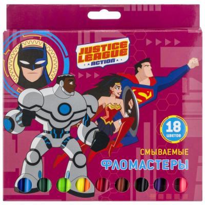 """Набор фломастеров Action! """"DC Comics"""" 18 шт DC-AWP105-18 в ассортименте"""