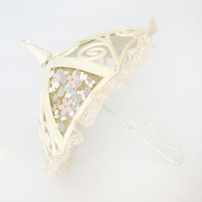 Купить Елочные украшения Winter Wings Зонтик N180997 13 см 1 шт пластик, металл