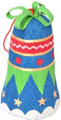 Купить Елочные украшения Winter Wings Колокольчик N180165 9 см 1 шт пластик в ассортименте, разноцветный