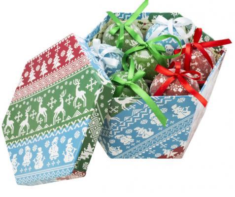 Купить Набор шаров Winter Wings Новогодний 7.5 см 14 шт пластик, разноцветный, Елочные украшения
