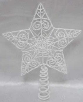 Наконечник Winter Wings Звезда белый 25 см 1 шт металл 180472