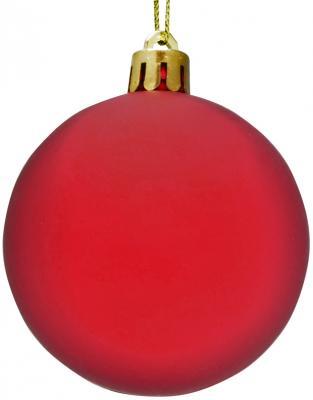 Купить Набор шаров Winter Wings Капли дождя красный 5.5 см 3 шт, Елочные украшения