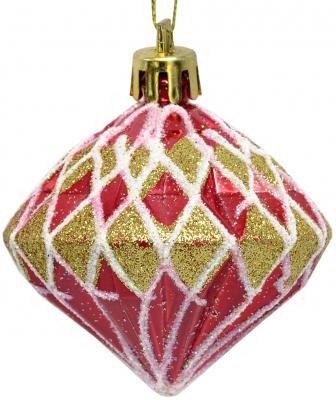 Купить Елочные украшения Winter Wings Кристаллы 6 см 3 шт, разноцветный