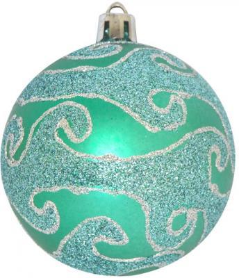 Купить Набор шаров Winter Wings с блестящей крошкой, в связке зеленый 7 см 3 шт пластик N181149, Елочные украшения
