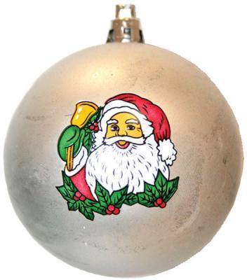 Купить Набор шаров Winter Wings Дед Мороз, с ручной росписью в ассортименте 6 см 6 шт N06469, цвет в ассортименте, Елочные украшения