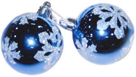 Купить Набор шаров Winter Wings блестящий, связка в ассортименте 6 см 3 шт N06006, цвет в ассортименте, Елочные украшения