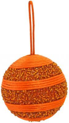 Купить Елочные украшения Winter Wings Шар декоративный оранжевый 8 см 1 шт N06511/О