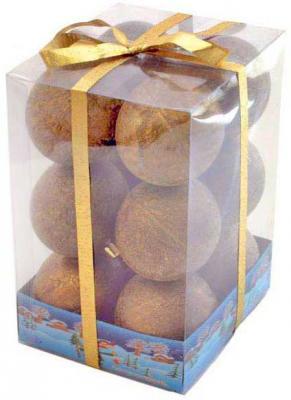 Купить Набор шаров Winter Wings Искра в ассортименте 6 см 12 шт N06277, цвет в ассортименте, Елочные украшения