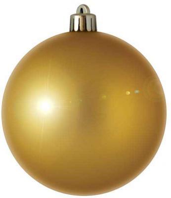 Купить Елочные украшения Winter Wings Шар блестящий золотой 7 см 1 шт N06705