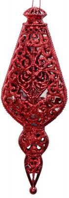 Купить Елочные украшения Winter Wings Подвеска красный 16 см 1 шт
