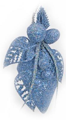 Елочные украшения Winter Wings Подвеска в ассортименте 10 см 1 шт блестящая крошка