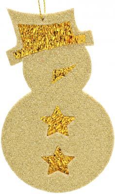 Елочные украшения Winter Wings Снеговик золотой 13 см 1 шт winter wings украшение елочное елка