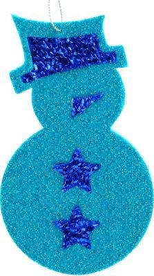 Елочные украшения Winter Wings Снеговик синий 13 см 1 шт winter wings украшение елочное елка