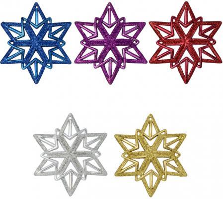 Елочные украшения Winter Wings Снежинка 11 см 1 шт пластик N069460 winter wings украшение елочное елка
