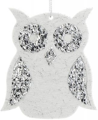Купить Елочные украшения Winter Wings Сова серебро 12 см 1 шт полимерный материал N181965S