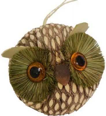 Елочные украшения Winter Wings Сова 9 см 1 шт соломка N181392 winter wings украшение елочное елка