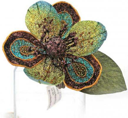 Елочные украшения Winter Wings Цветок 12 см 1 шт пластик N069187 winter wings украшение елочное елка