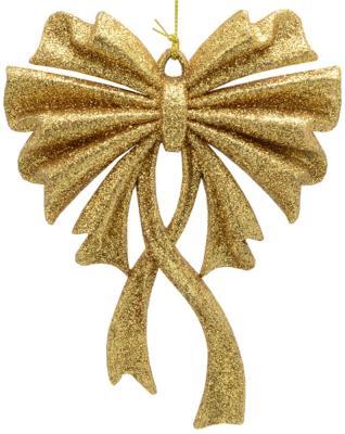 Купить Елочные украшения Winter Wings Бант золотой 15 см 1 шт N181633G