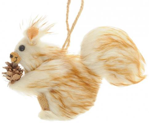 Елочные украшения Winter Wings Белка 17*13 см 1 шт полиэстер елочные украшения ewa eco wood art набор елочных игрушек комплект