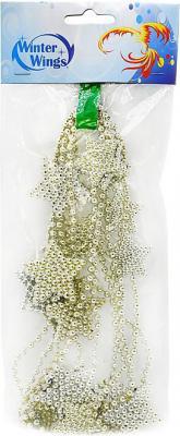 Бусы Winter Wings Бусы в ассортименте 270 см 1 шт stylish rhinestone engraving faith heart bracelet for women
