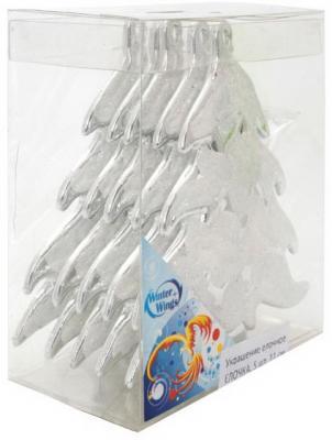 Елочные украшения Winter Wings елочка 11 см 5 шт пластик зеркало ellux laguna 55х75 см со светильником 28 w lag a1 0206