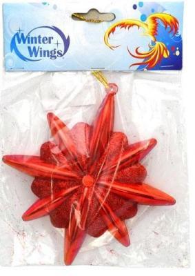 Елочные украшения Winter Wings Звезда в ассортименте 10 см 1 шт