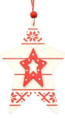 Картинка для Елочные украшения Winter Wings Звезда энерджи 10 см 1 шт дерево