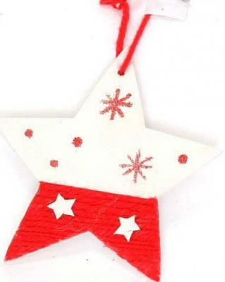 Елочные украшения Winter Wings Звезда 10 см 1 шт дерево елочные украшения winter wings набор шаров мишки 7 шт