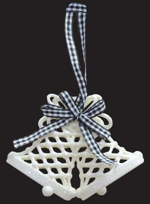 Елочные украшения Winter Wings Колокольчики белый 11х8,5 см 1 шт пластик елочные украшения ewa eco wood art набор елочных игрушек комплект