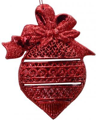 Купить Елочные украшения Winter Wings Луковица красный 13 см 1 шт