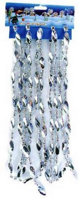 Бусы Winter Wings N06030 серебро 2.7 м 1 шт бусы winter wings n07304 прозрачный 25 мм 1 м 1 шт стекло