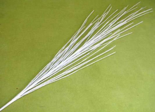 Купить Украшение Winter Wings Веточка белый 120 см 1 шт пластик N069785, Елочные украшения