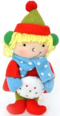 Картинка для Украшение Winter Wings Девочка со снежком в ассортименте 18 см 1 шт полиэстер N180932